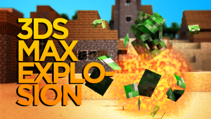 3D Explosion Tutorial (with Smoke & Fire... and creepers)