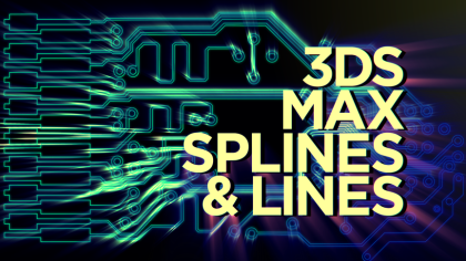 Creating a Circuit Board with 3D Splines